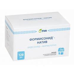 Формисонид-натив – инструкция по применению, 160 + 4,5 мкг, отзывы, цена