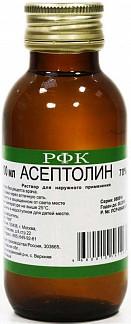 Как разбавить асептолин с водой для ран. асептолин плюс - инструкция по применению. аналоги, отзывы и стоимость «асептолина»