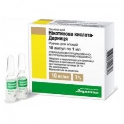 Никотиновая кислота – отзывы, правила применения и стоимость