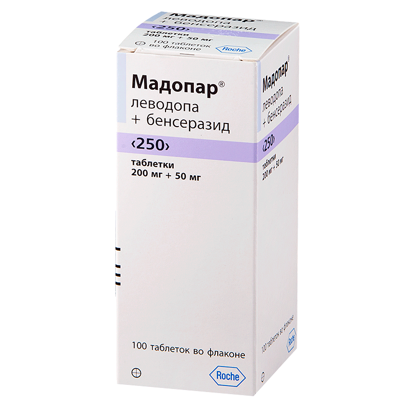 Инструкция по применению мадопар (madopar)