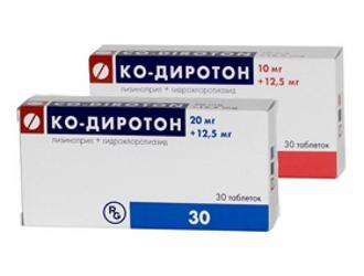 При каком давлении и как правильно принимать таблетки диротон?