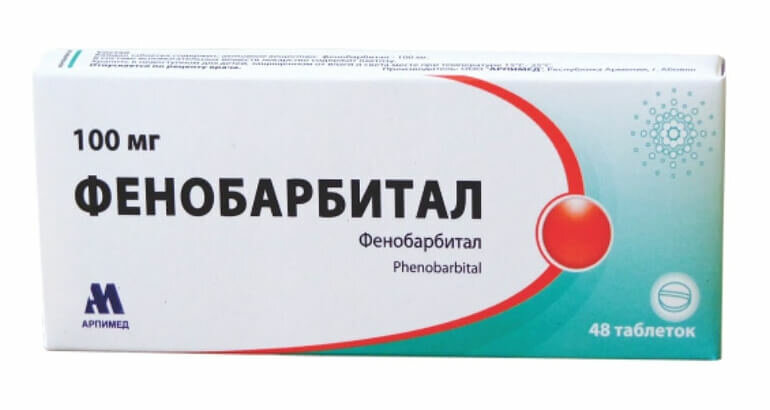 Фенобарбитал                                             (phenobarbital)