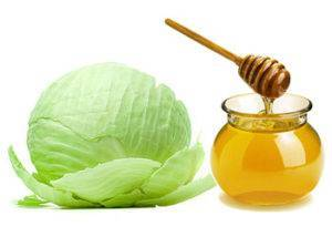 Капуста с медом: от кашля, при больном горле, от ушибов и для суставов, а также инструкция, как сделать отвар и компресс из листьев детям и взрослым