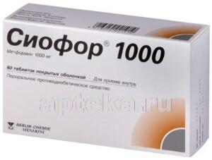 Сиофор 500 — идеальное средство для снижения веса у диабетиков