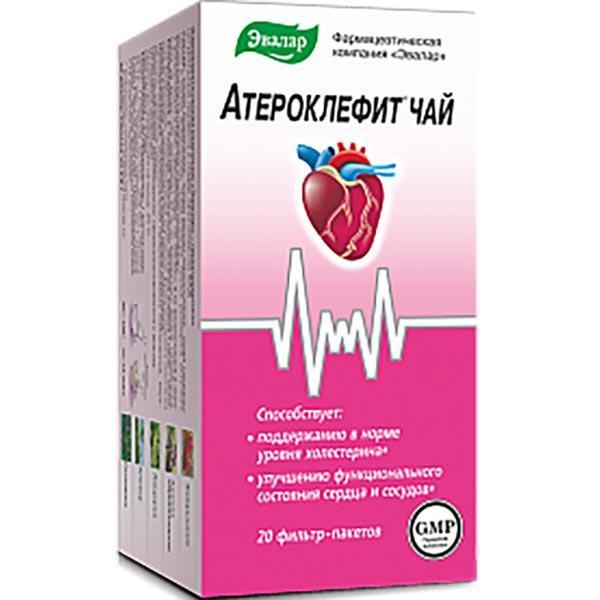 Таблетки и капли атероклефит: инструкция, цена и отзывы врачей
