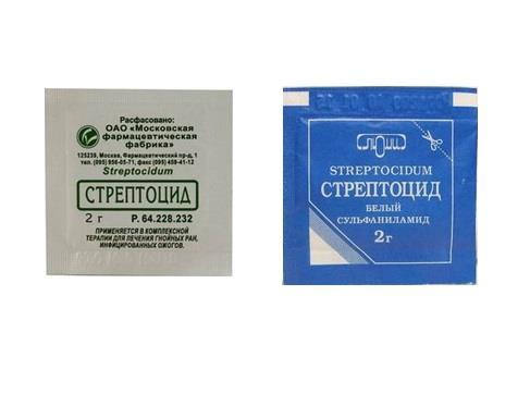 Стрептоцид, таблетки