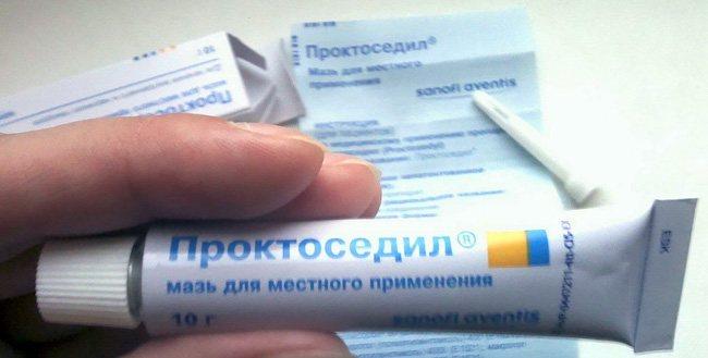 Проктоседил (мазь и свечи): цена и отзывы о лечении