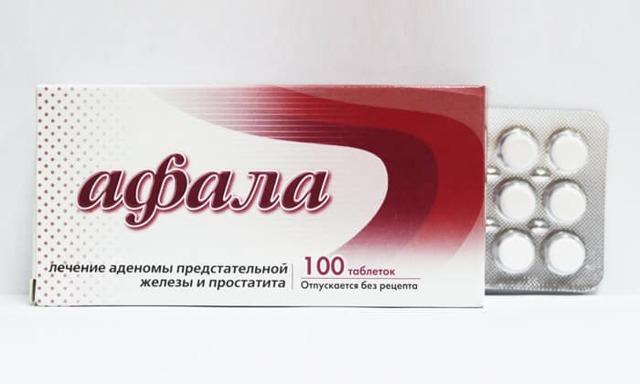 Афала при лечении простатита