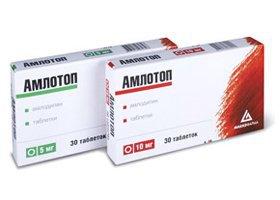 Инструкция по применению препарата амлотоп — при каком давлении и как правильно принимать?