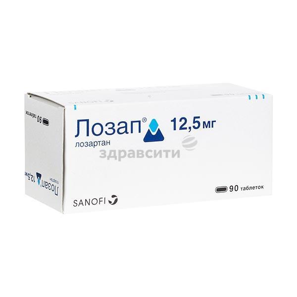 Таблетки лозап плюс (12.5, 50 и 100 мг): инструкция, цена и аналоги