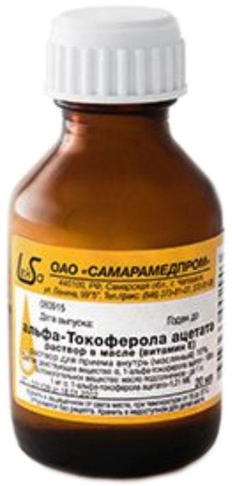 Альфа-токоферол (е307)
