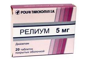Инструкция по применению препарата сибазон
