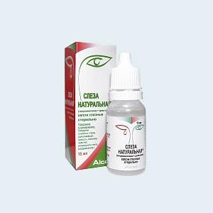 Натуральная слеза (глазные капли): инструкция по применению, цена, аналоги, отзывы, где купить