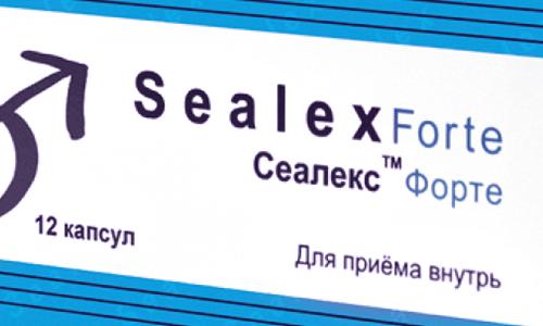 Сеалекс форте: инструкция по применению, показания и противопоказания