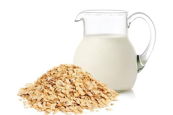 Все варианты рецептов овса с молоком от кашля