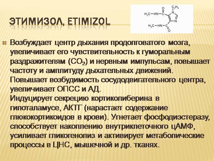 Этимизол - инструкция по применению