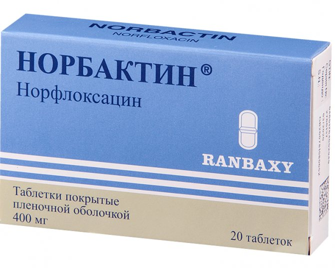 Инструкция по применению норфлоксацин в таблетках + рецепт + отзывы + аналоги