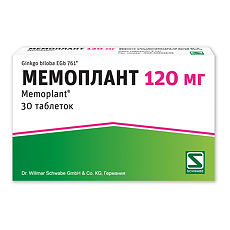 Аналоги таблеток мемоплант