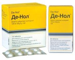 Де нол – инструкция по применению. отзывы о препарате, аналоги, цена. возможные побочные действия, механизм действия, информация о том, как принимать препарат.