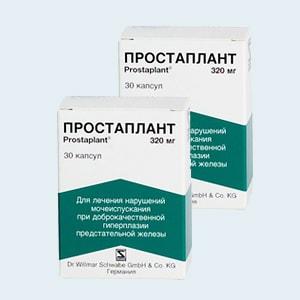 Простаплант: состав, показания и противопоказания, побочные эффекты