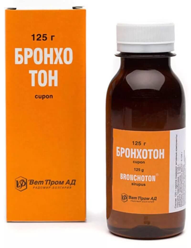 Бронхолитин: сироп 125 г
