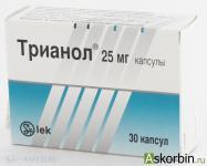 Лекарственный препарат трианол для лечения аденомы простаты