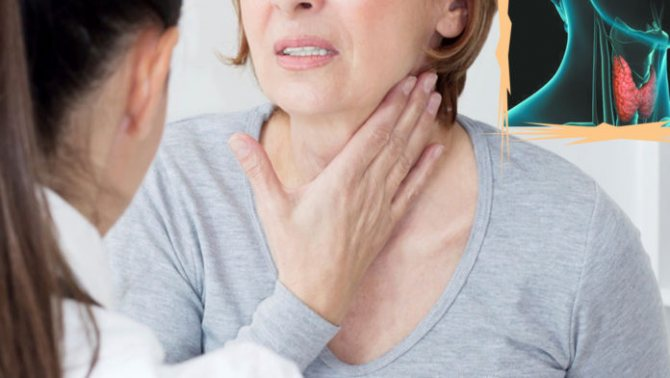 Заболевание щитовидной железы могут приводить к психическим расстройствам