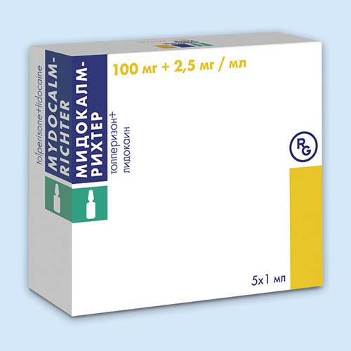 Мидокалм-рихтер (mydocalm-richter) уколы. инструкция по применению, цена, отзывы