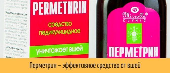 Перметрин — отзывы, цена, аналоги, форма выпуска