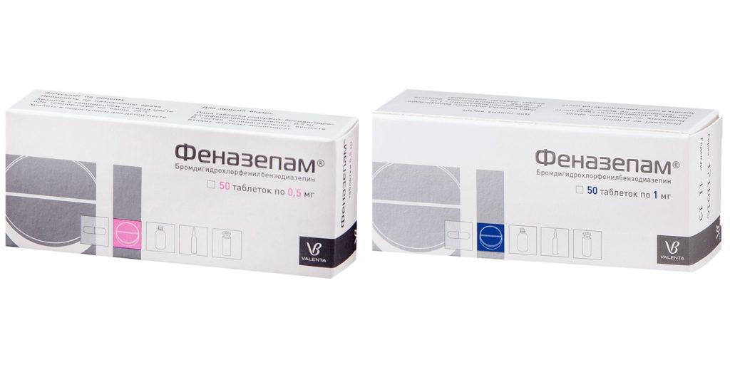Таблетки феназепам инструкция по применению — аналоги — действия на организм — отзывы
