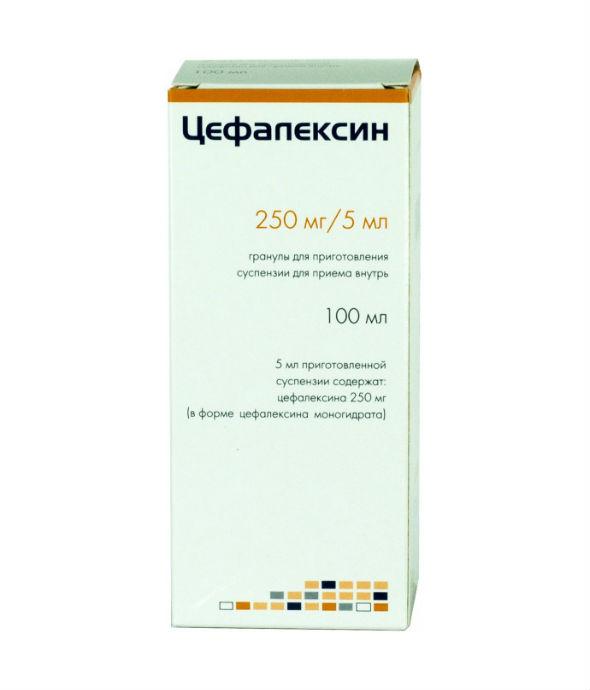 Цефалексин, таблетки
