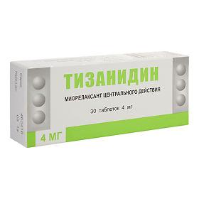 Тизанидин − инструкция по применению, аналоги, цена, отзывы о таблетках