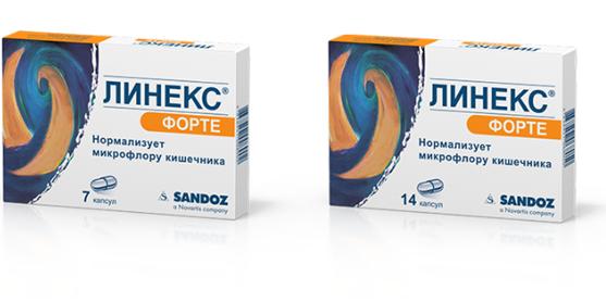 Линекс форте: инструкция по применению, аналоги и отзывы, цены в аптеках россии