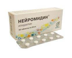 Нейромидин таблетки, уколы - инструкция по применению