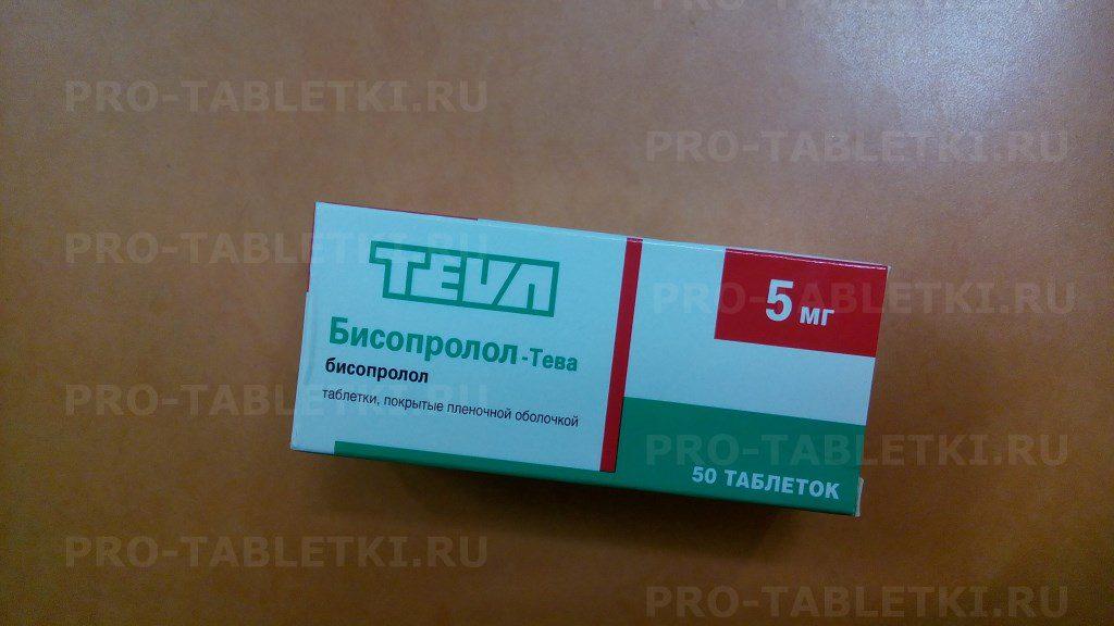 Кому показаны таблетки бисопролол тева, что говорится в инструкции по применению?