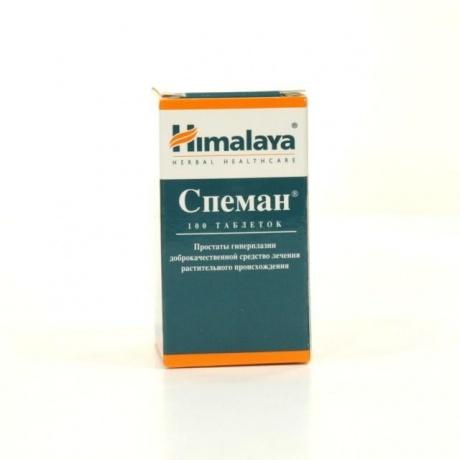 Спеман - инструкция по применению, цена препарата и его аналогов, отзывы