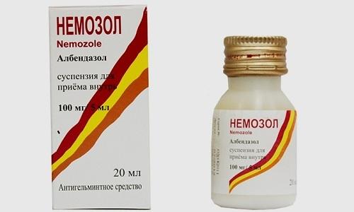 Немозол. инструкция по применению для детей в таблетках, суспензии. цена, аналоги