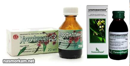 Хлорофиллипт показания, инструкция по применению для полоскания горла