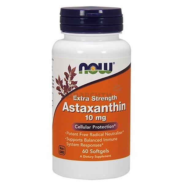 Астаксантин: польза и вред для организма