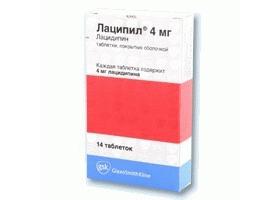 Лацидипин (lacidipine) - инструкция по применению, описание, фармакологическое действие, показания к применению, дозировка и способ применения, противопоказания, побочные действия.