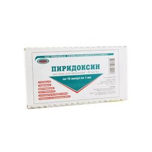 Пиридоксин – инструкция по применению, дозы, показания