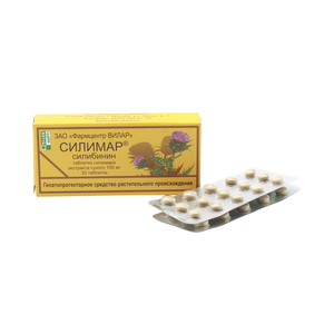 Таблетки силимар для лечения и восстановления печени