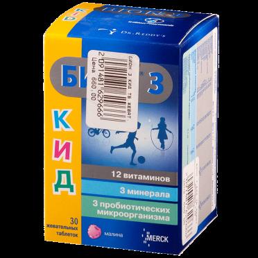 Польза и применение витаминного препарата бион 3