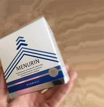 Средство от простатита менурин: инструкция и отзывы