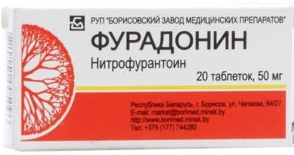 Как принимать фурадонин при лечении цистита