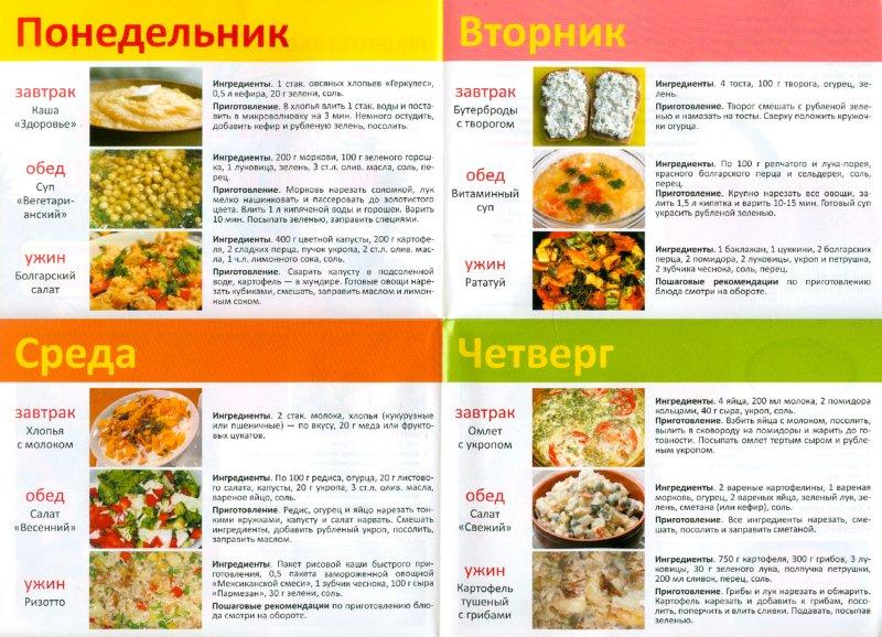 Питание при эрозивном гастрите желудка меню на каждый день