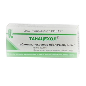 Обзор инструкции и отзывов о применении таблеток танацехол