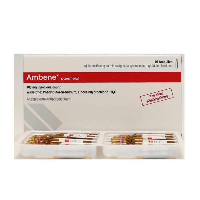 Терапия заболеваний суставов с помощью амбене — инструкция, отзывы