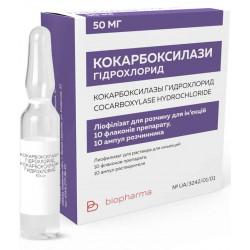 Кокарбоксилаза: состав, лечебные свойства, способ применения