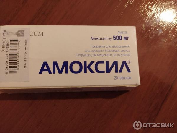 Амоксил - к 625 инструкция
